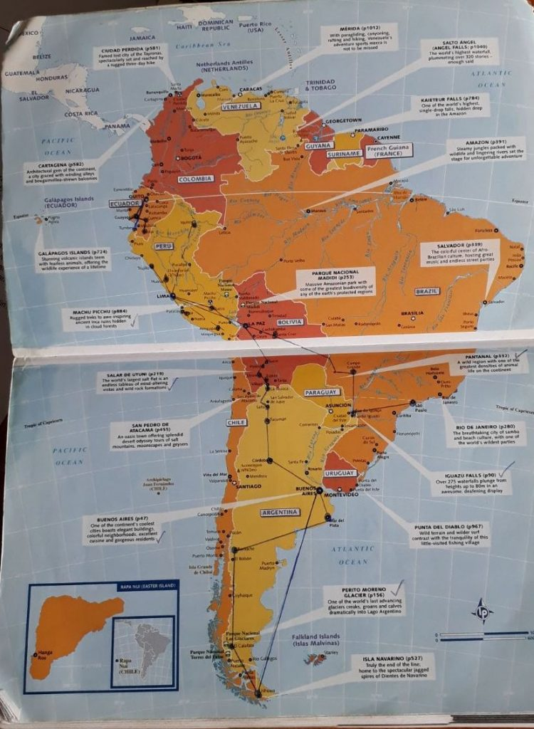 Top 10 South America on a shoestring 2