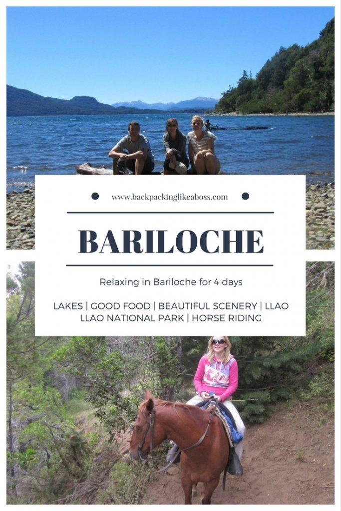 Relaxing in Bariloche