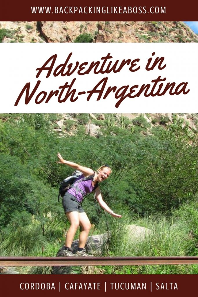 north-argentina itinerary - Cordoba Tucuman Cafayate Salta