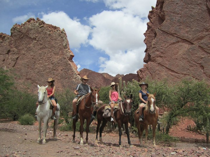 Two Weeks in Bolivia - Horseriding in Tupiza