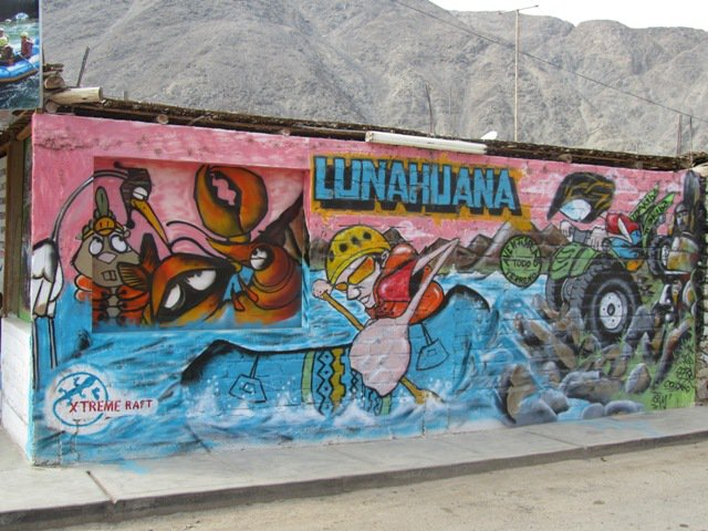 Life in Lima and a trip to the Sur Chico - Lunahuana