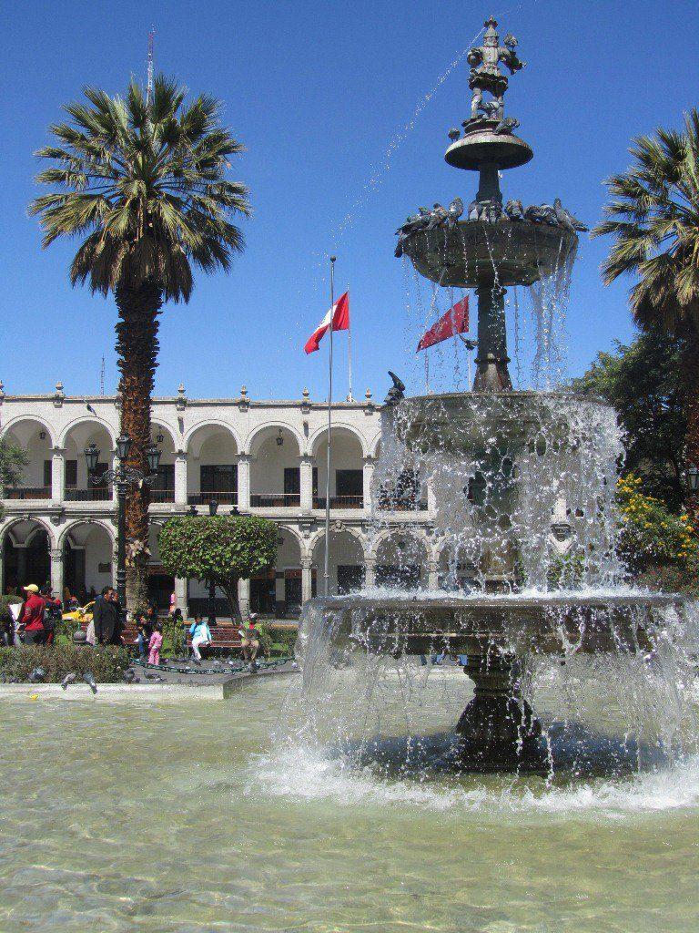 5 Days in Arequipa - Plaza de Armas