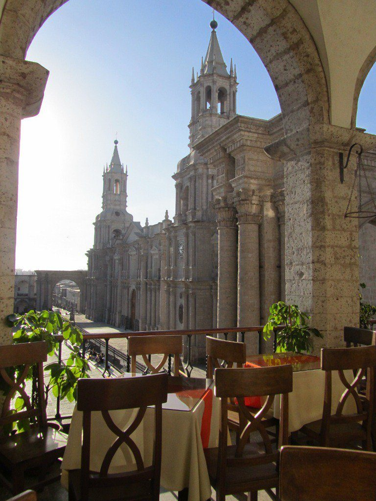 5 Days in Arequipa - View on Plaza de Armas