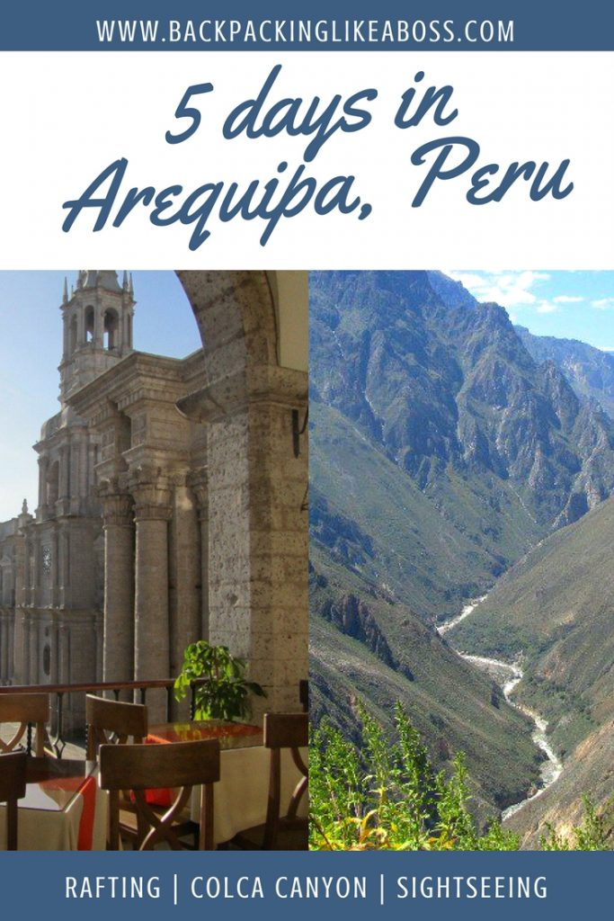 5 Days in AREQUIPA