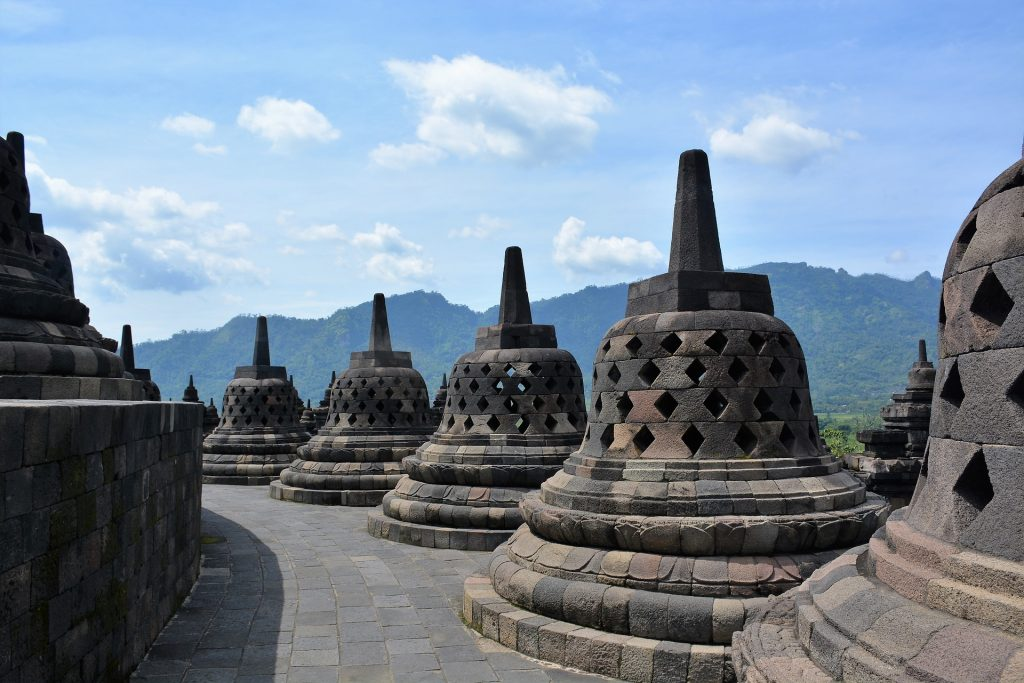 Backpacking in Indonesia - Borobudur Temples