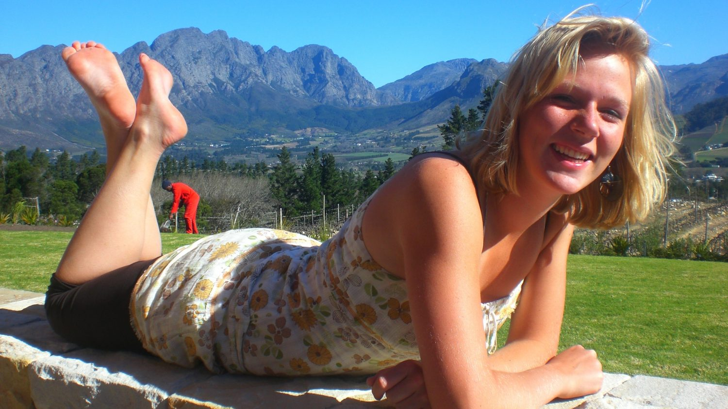 Backpacking in South-Africa - Stellenbosch