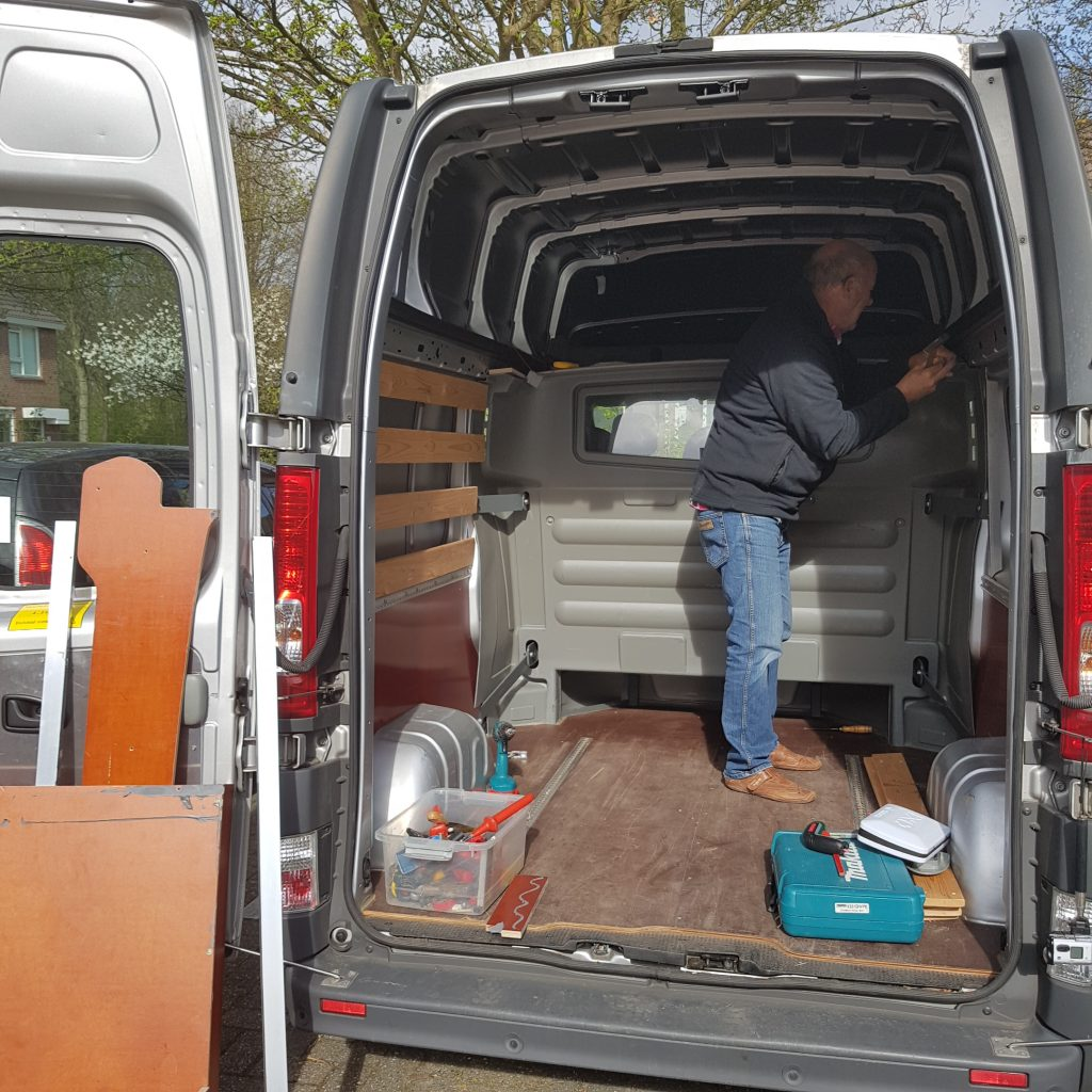 Van Conversion Stripping The Van