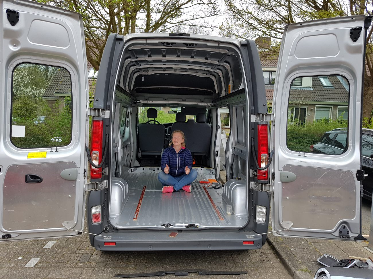 Stripping the Van – DIY Renault Trafic CamperVan Conversion Part 1
