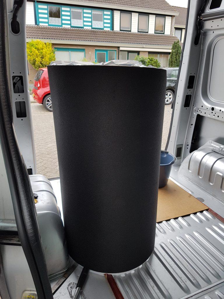 Van conversion - insulating the van