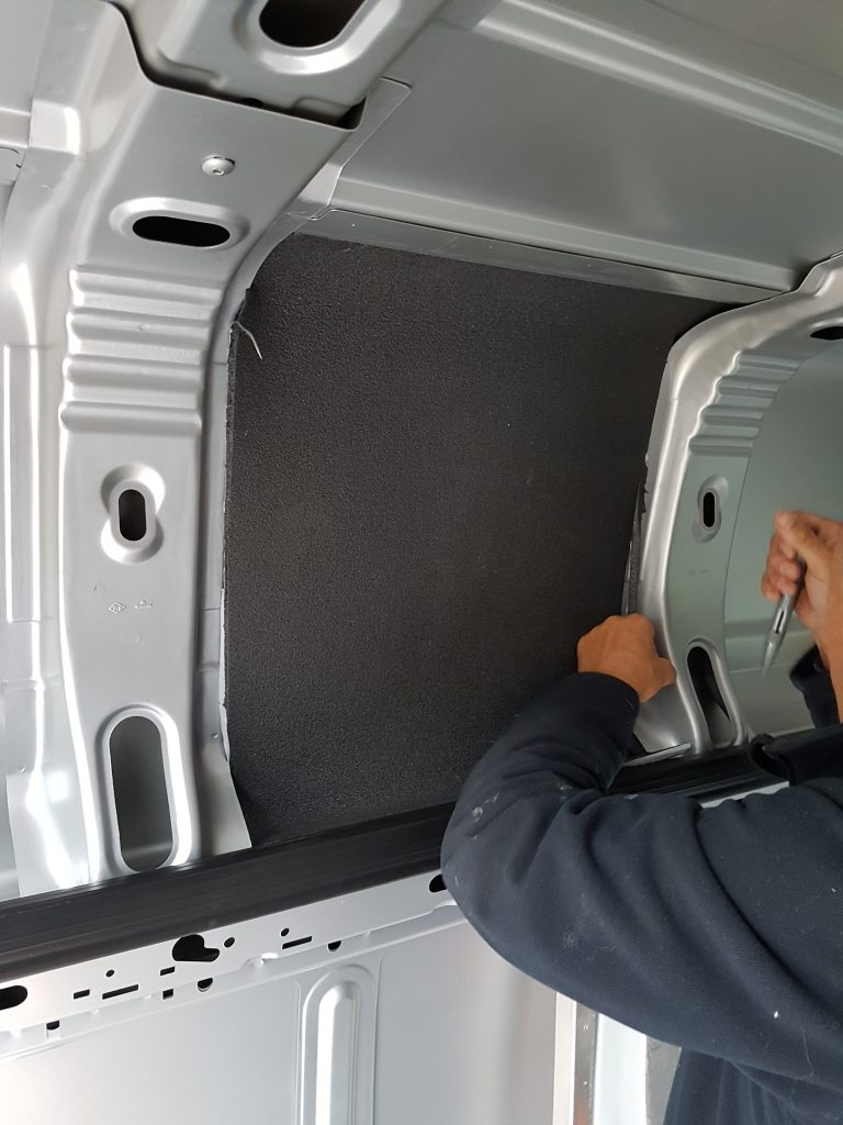 Van conversion - insulating the van