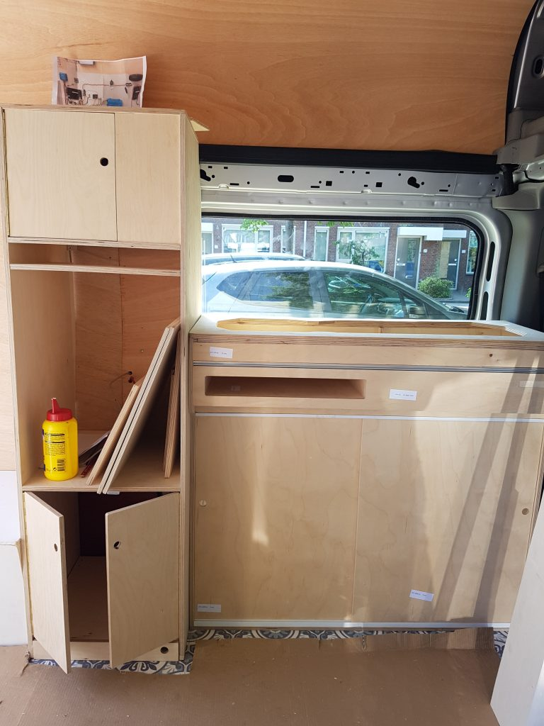 Kitchen in your campervan - DIY campervan conversion