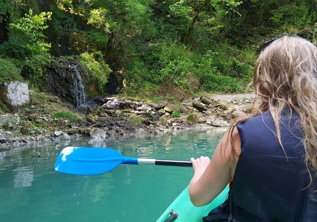 Roadtrip through the Jura - Canoeing Lac de Vouglans