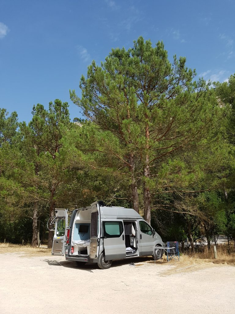 Free camping spot in France - Cuges Les Pins