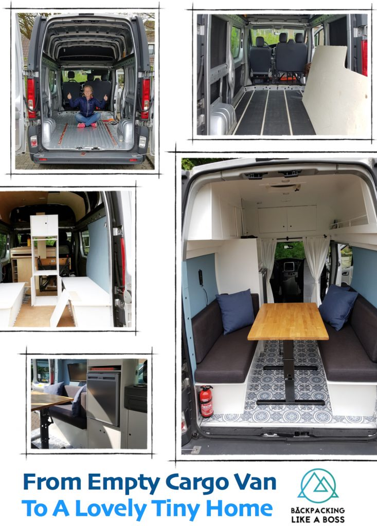 Van Conversion Backpacking Like A Boss