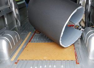 DIY Campervan Insulation Van Conversion