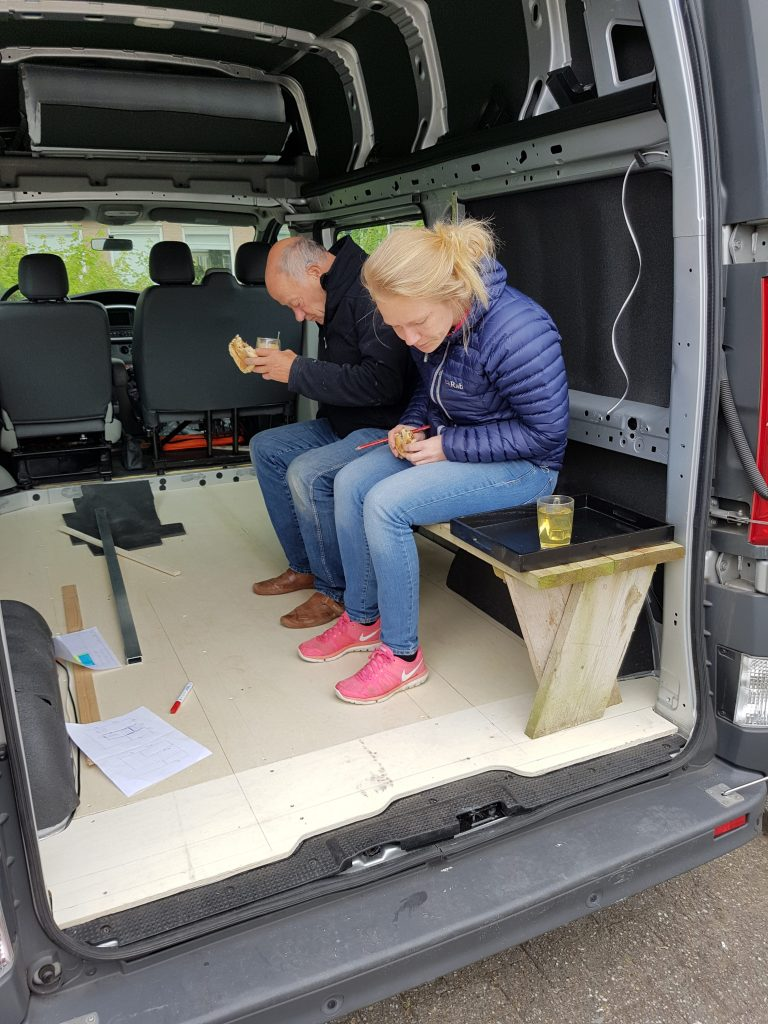 The floor, ceiling and walls of your campervan conversion - Renault Trafic DIY Campervan Conversion