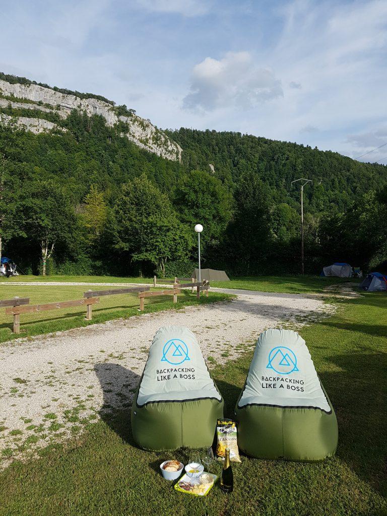 Camping de L'Abbeye Bonlieu