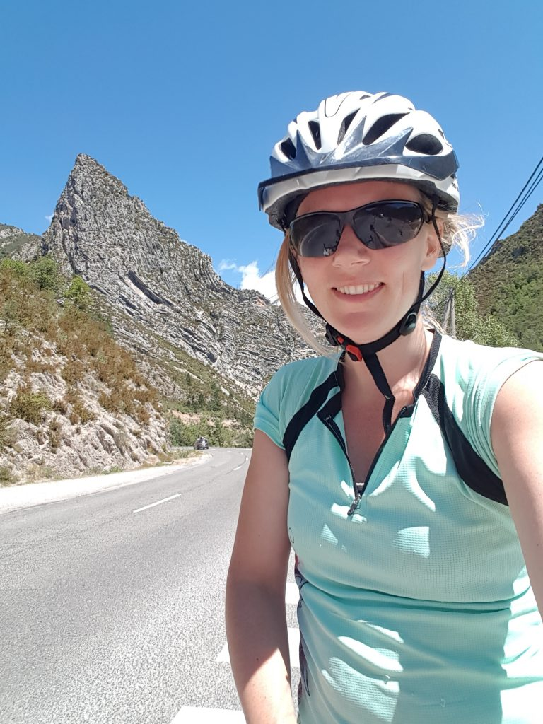 Cycling around Castellane in the Gorges du Verdon