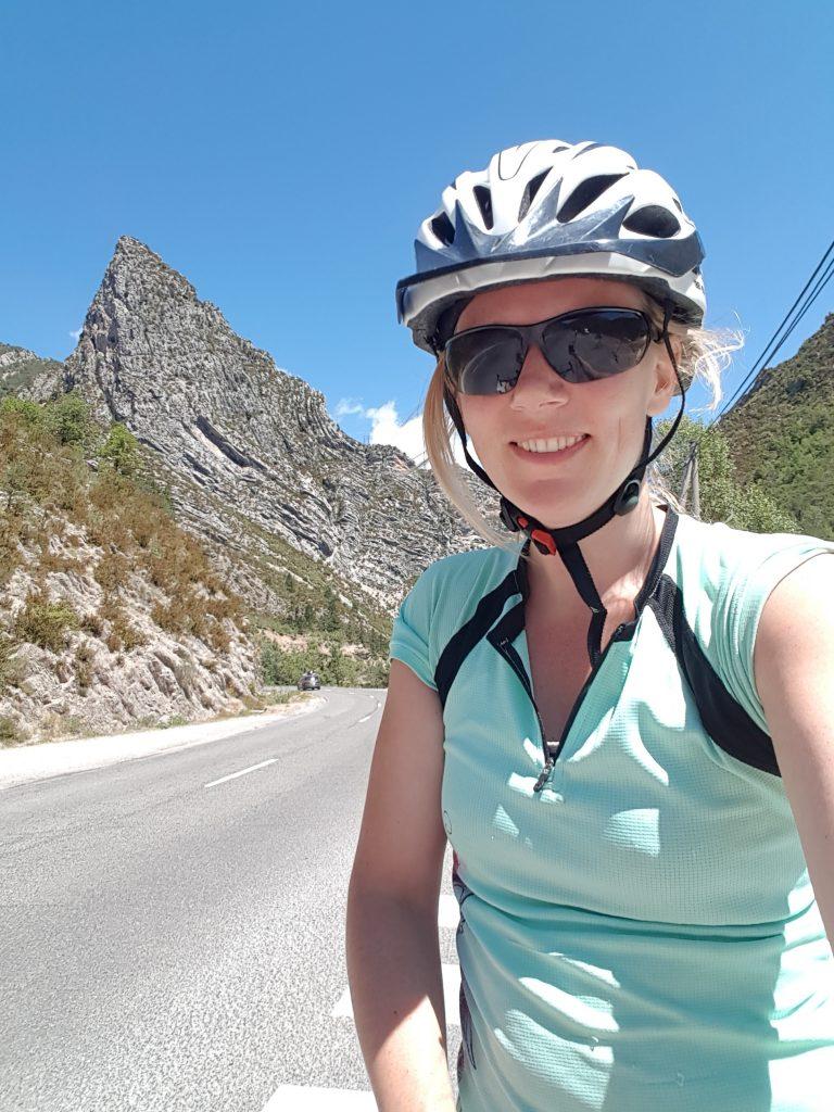 Cycling around Castellane in the Gorges du Verdon