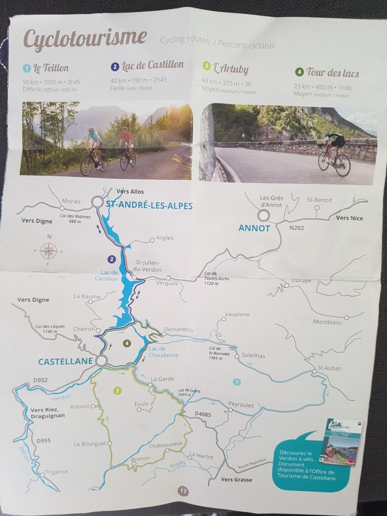 Cycling in the Gorges du Verdon