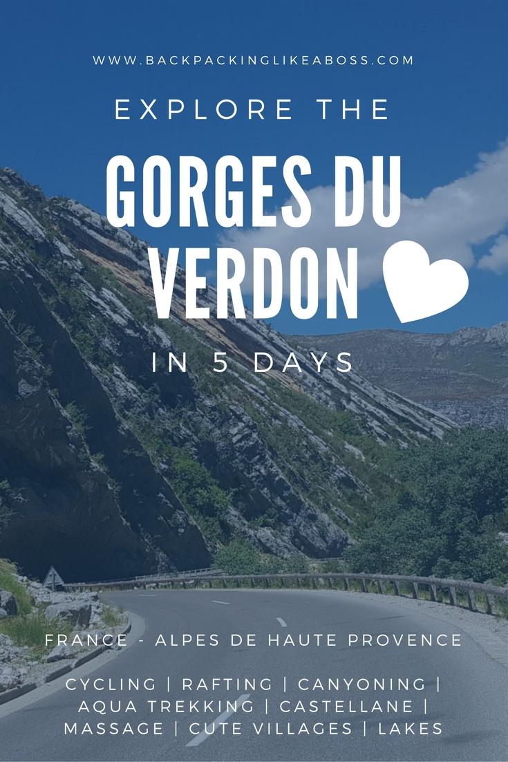 Gorges du Verdon - Castellane Cycling Aqua Trekking