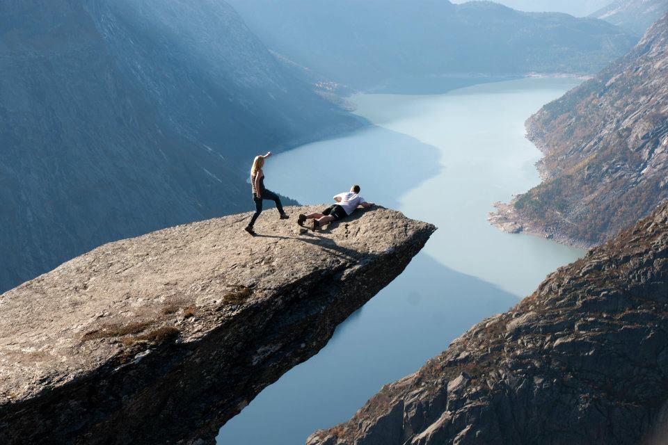 Hike to Trolltunga, Norway