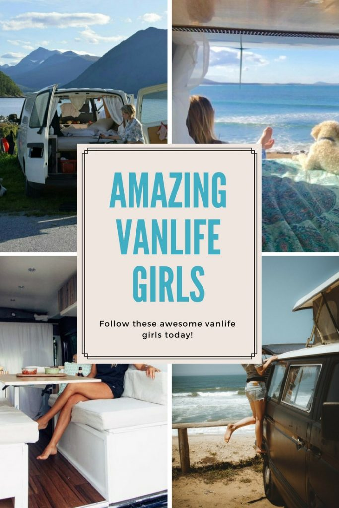 Follow these amazing vanlife girls today!