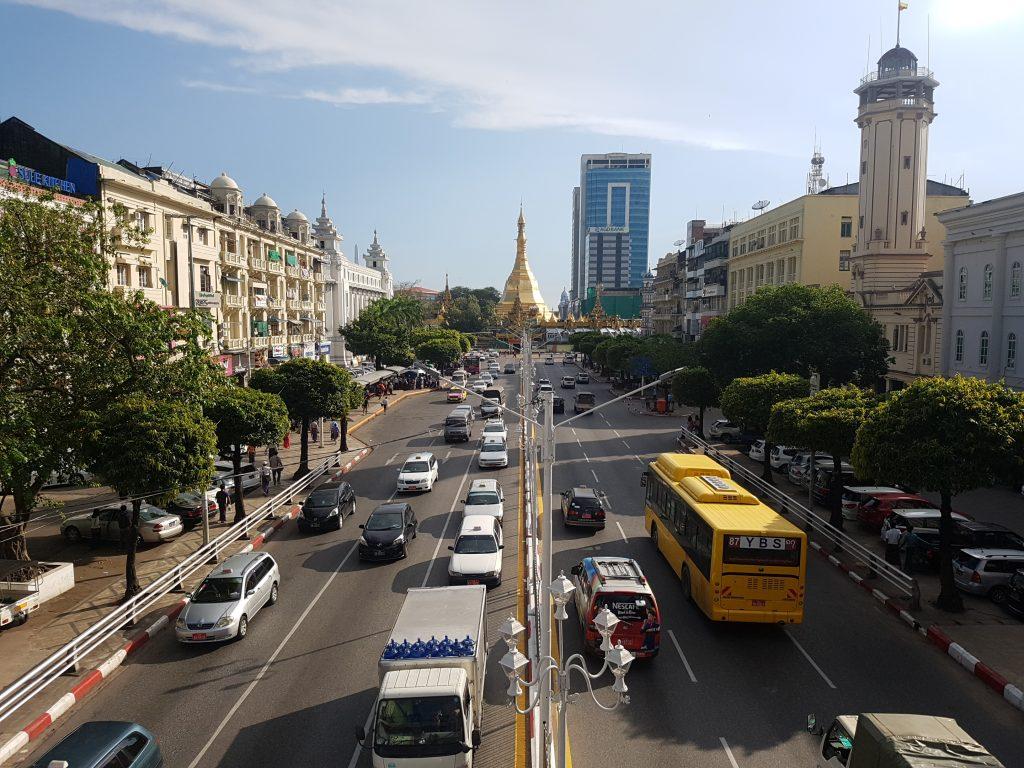 3 weeks in Myanmar - Sule Paya