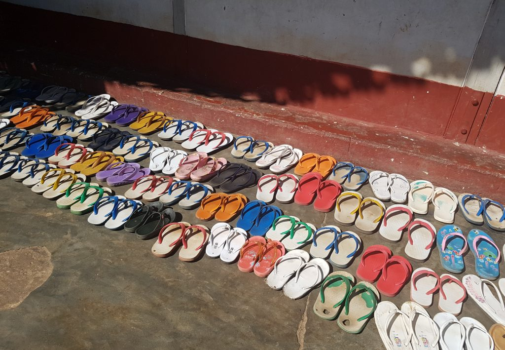 Packing list for Myanmar: flipflops