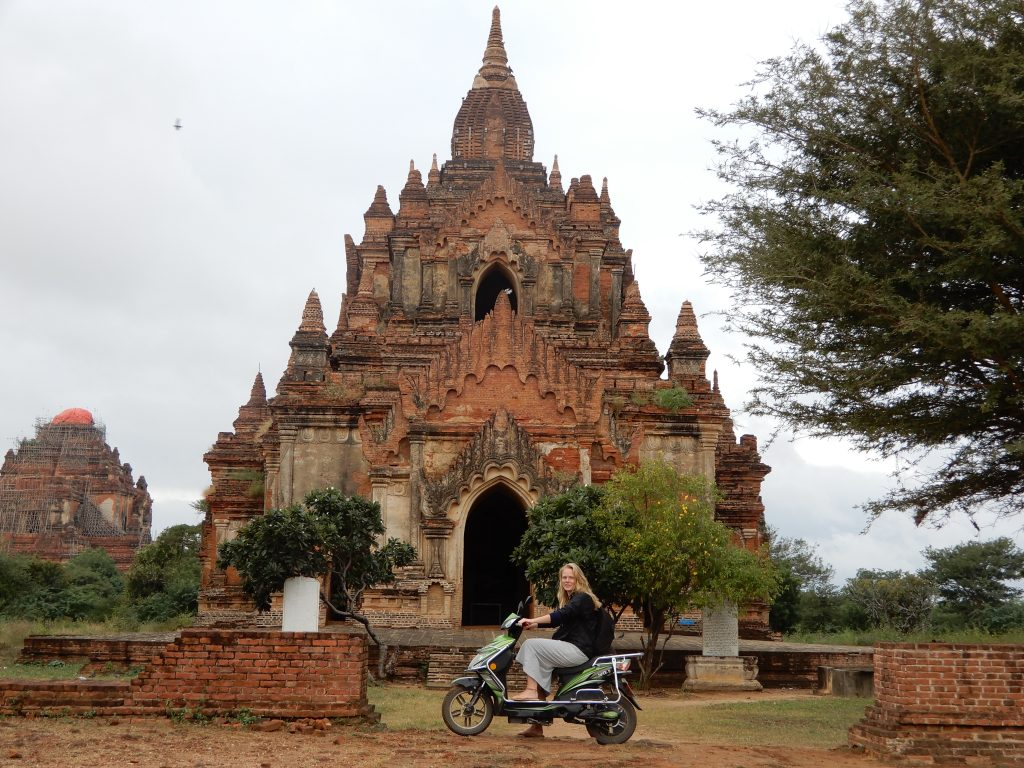 Favourite things about Myanmar - The Temples of Bagan!