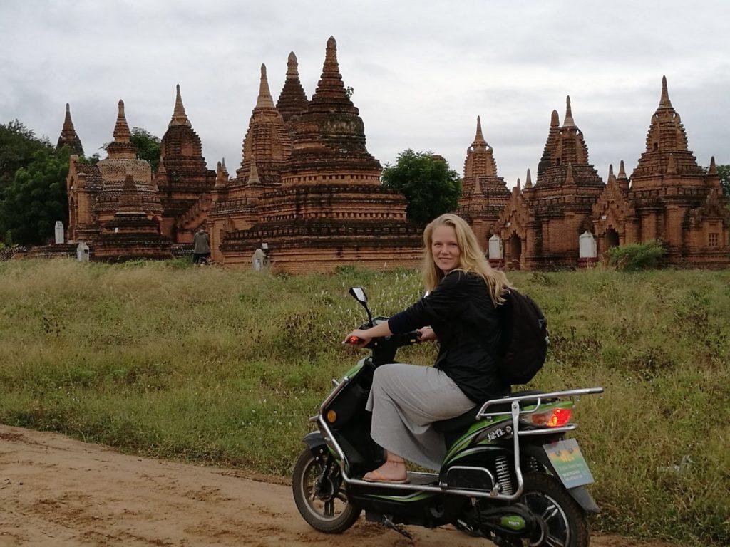 3 weeks in Myanmar - Ebiking in Bagan