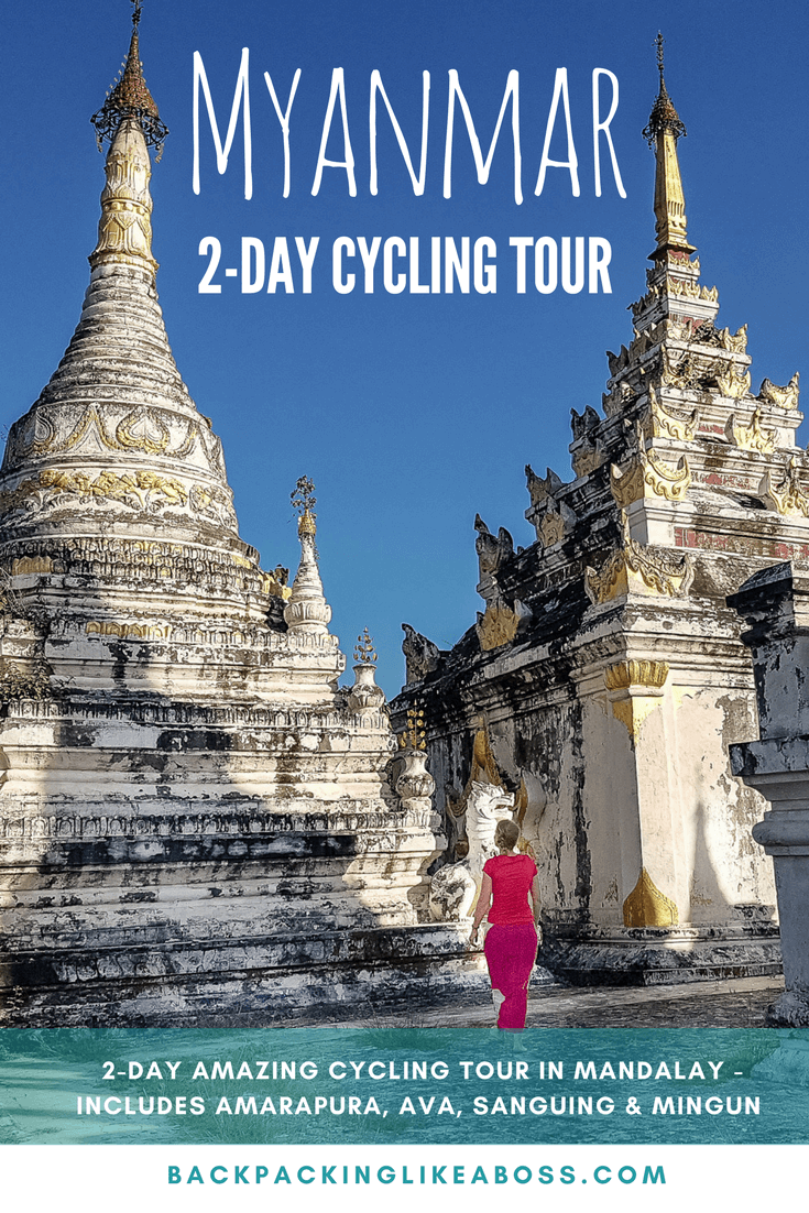 2 days cycling in Myanmar