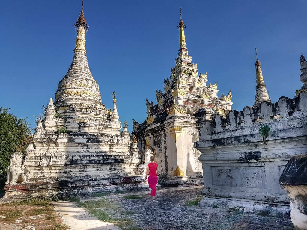 Cycling in Myanmar - Visiting Amazing temple complexes