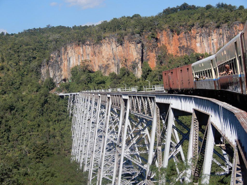 Gokteik Viaduct Myanmar