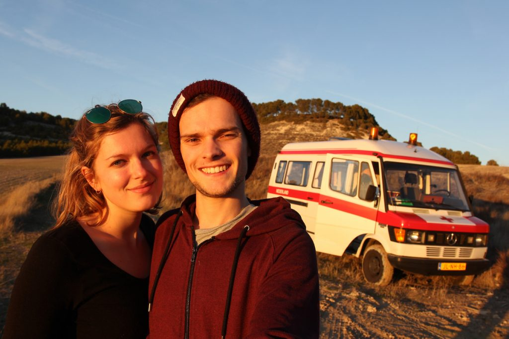 Living in a campervan full-time - Dutch Vanlifers