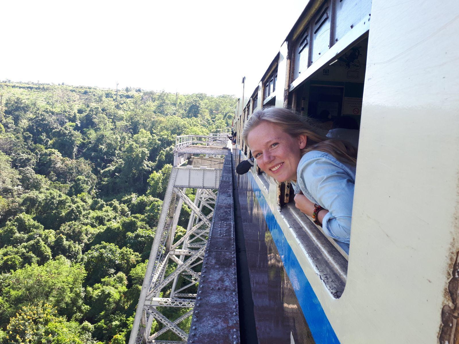 The Gokteik Viaduct | Myanmar Train Travel | From Hsipaw to Pyin Oo Lwin