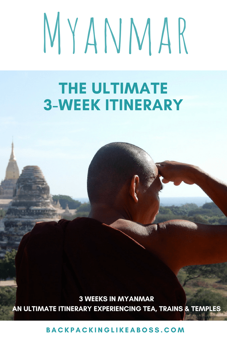 The ultimate 3-week itinerary for Myanmar