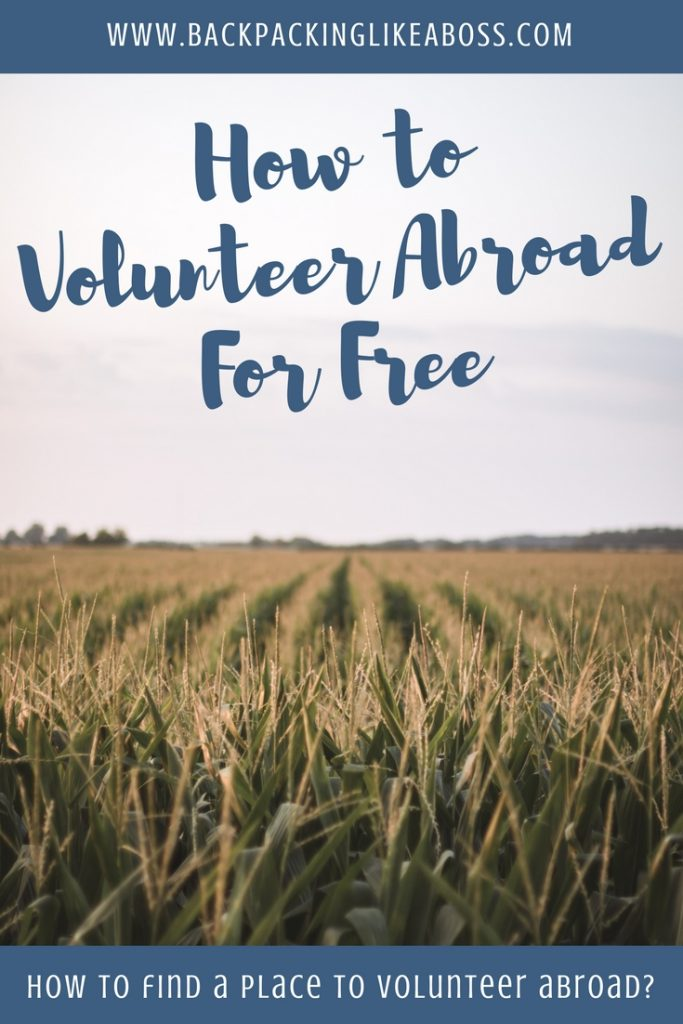 Volunteer Abroad For Free