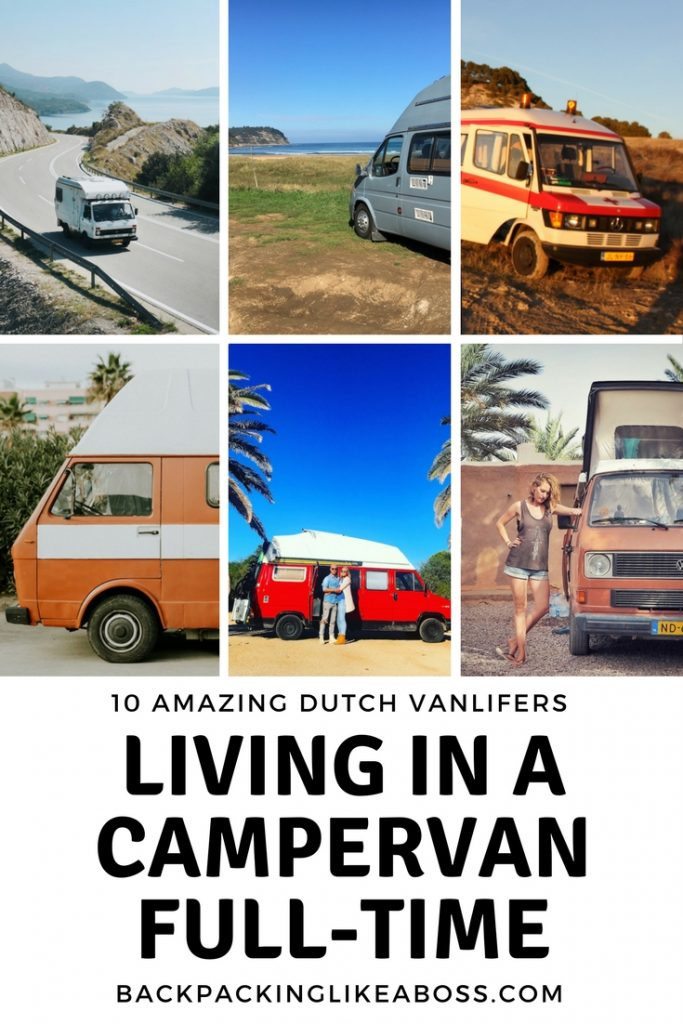 Living in a campervan full-time is amazing. Check out these 10 Dutch Vanlifers that are living the dream!