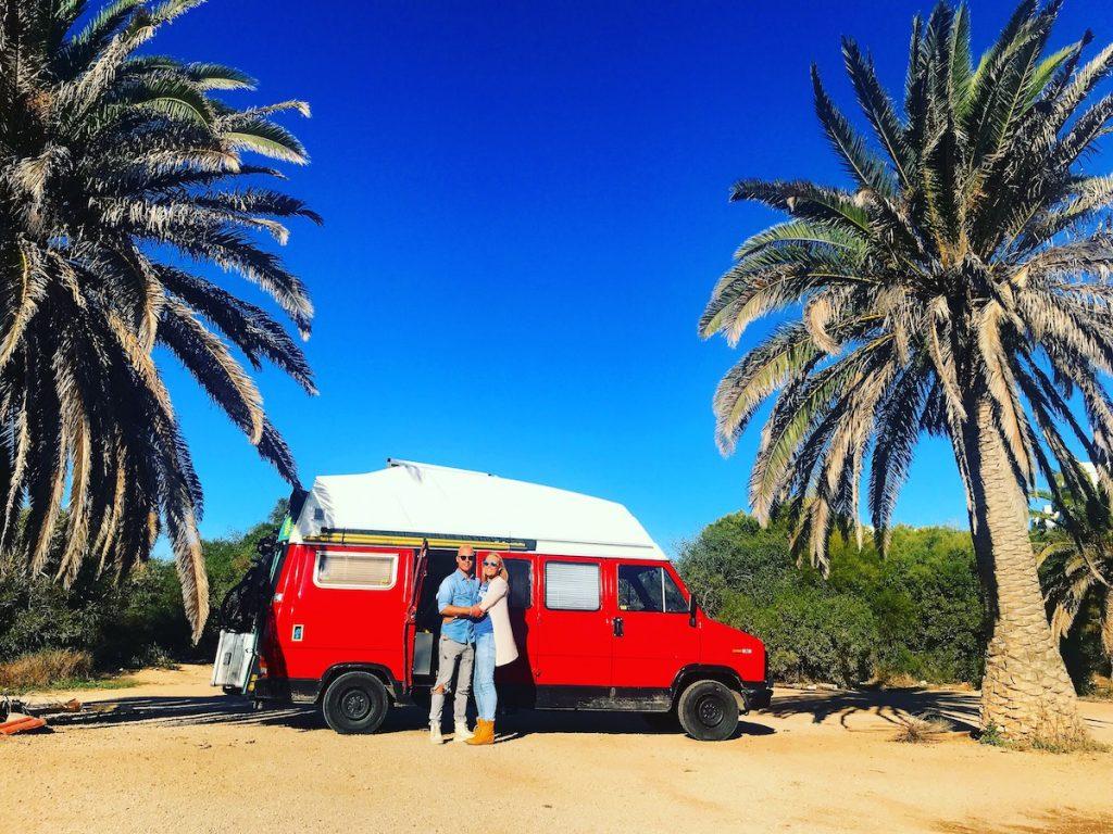 Living in a campervan full-time - Dutch Vanlifers