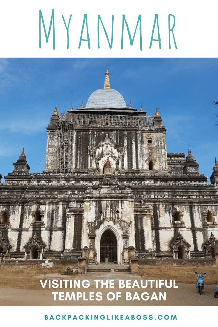 Visiting the temples of Bagan Myanmar