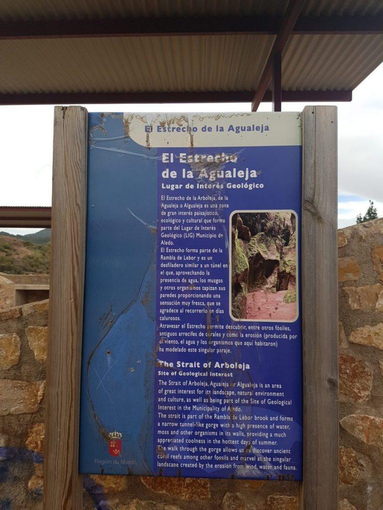 Things to do in Murcia - Sierra Espuna - Estrecho de Arboleja