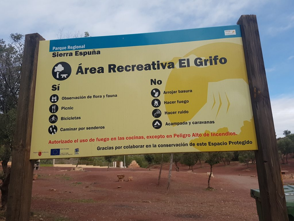 Things to do in Murcia - Sierra Espuna Area Recreativo