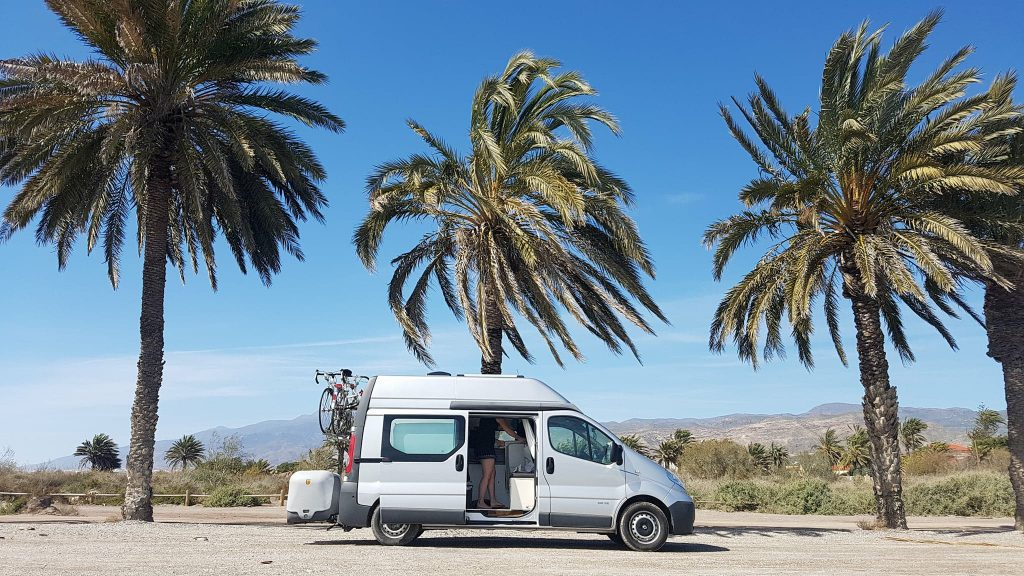 Travelling in a campervan