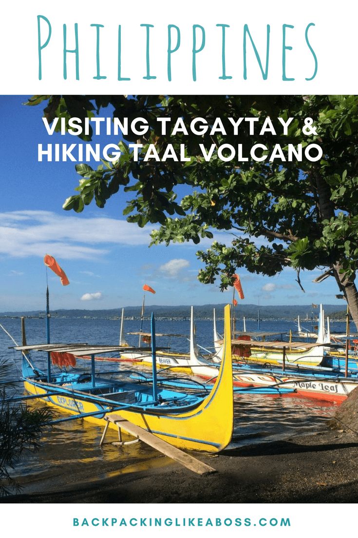 Visiting Tagaytay in Philippines