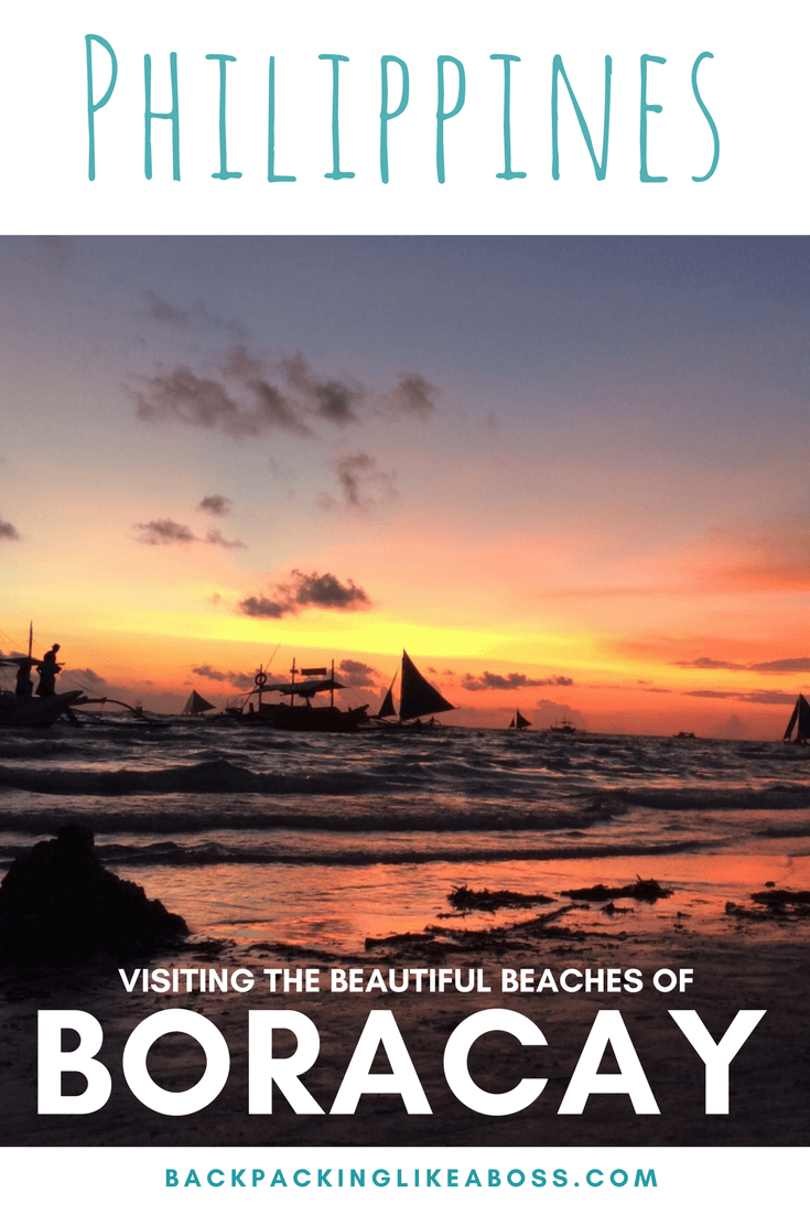 Beaches of Boracay in the Philippines