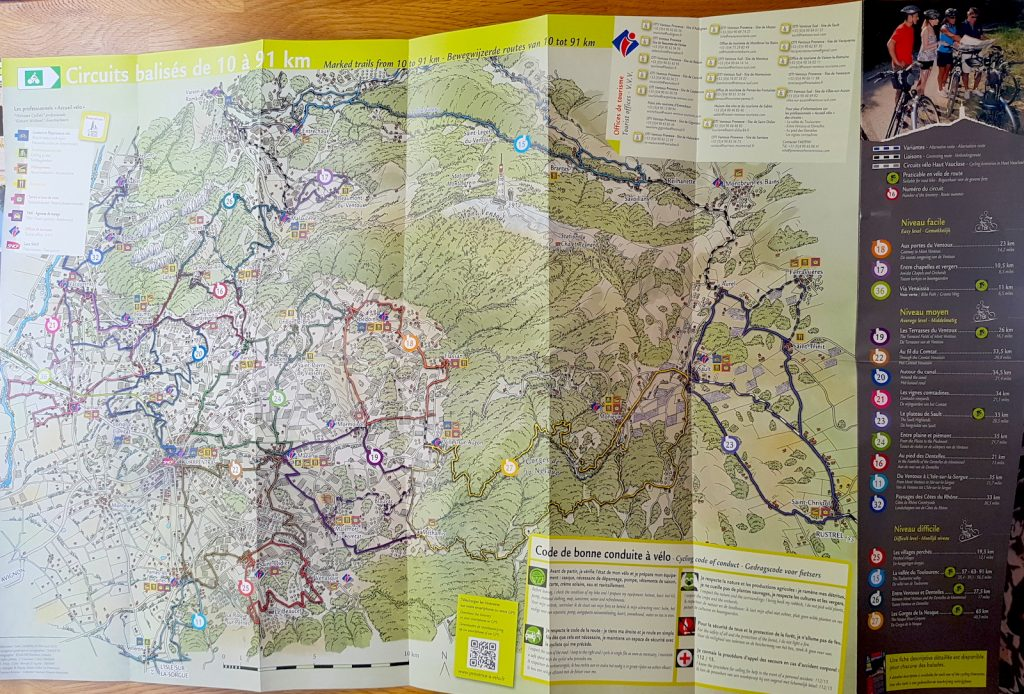 Cycling Mont Ventoux - Routes around Mont Ventoux