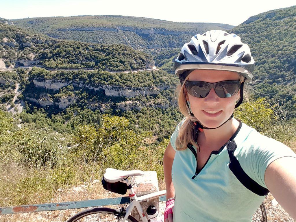 Cycling Gorges de la Nesque