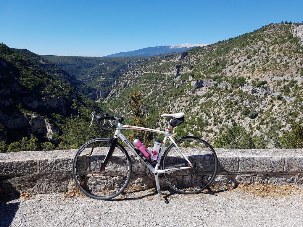 Cycling Gorges de la Nesque - Mont Ventoux