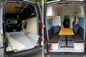 renault trafic campervan conversion diy